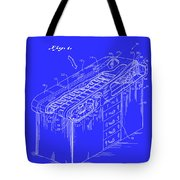 Medical Examining Table Patent 1974 Tote Bag