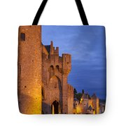 Medieval Carcassonne Tote Bag by Brian Jannsen