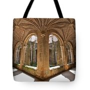 Medieval Monastery Cloister Tote Bag