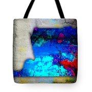 Memphis Map And Skyline Watercolor Tote Bag