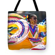 Mexican Folk Dancers Tote Bag