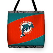 Miami Dolphins Tote Bag