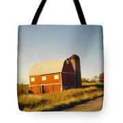 Michigan Barn Tote Bag