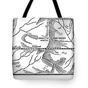Mont Cenis Tunnel, 1871 Tote Bag