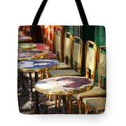 Montmartre Cafe Tote Bag