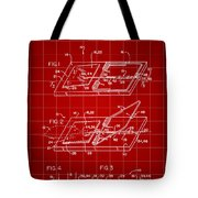 Mouse Trap Patent - Red Tote Bag