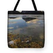 Mt. Rundle And Vermillion Lake Tote Bag