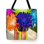 Multicolored Chrysanthemums  Tote Bag