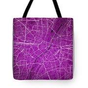 Munich Street Map - Munich Germany Road Map Art On Colored Backg Tote Bag