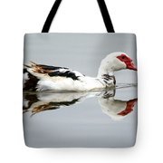 Muscovy Water Reflection Tote Bag