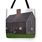 Nantucket's Oldest House Tote Bag