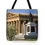 Nashville Parthenon Tote Bag