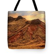 Navajo Nation Series Along 87 And 15 Tote Bag