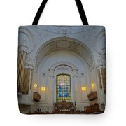 Naval Academy Chapel Tote Bag