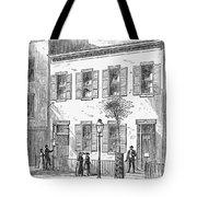 New York: Dispensary, 1868 Tote Bag