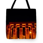 Night View From Temple Tote Bag