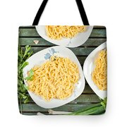 Noodles Tote Bag by Tom Gowanlock