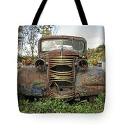 Old Junker Car Tote Bag
