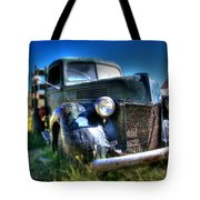 Old Truck At Bodie Tote Bag