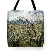 Orchard And Mount Hood, Oregon Tote Bag