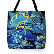Orpheus And Eurydike Tote Bag