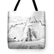 Over The Hill And Far Away Tote Bag