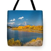 Oxbow Bend Grand Teton National Park Tote Bag