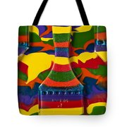 Paint Brushes Camouflaged Tote Bag
