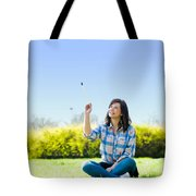Painting The World Tote Bag