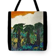 3 Palms Tote Bag