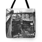 Panama Canal, 1910s Tote Bag
