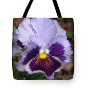Pansy From The Chalon Supreme Primed Mix Tote Bag
