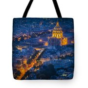 Paris Overhead Tote Bag
