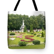 Park In Petergof Tote Bag