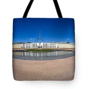 Parliament House Australia Tote Bag