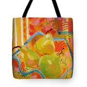 3 Pears Tote Bag