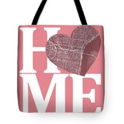Philadelphia Street Map Home Heart - Philadelphia Pennsylvania R Tote Bag