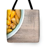Pickled Peppers Tote Bag