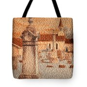 3 Points Tote Bag