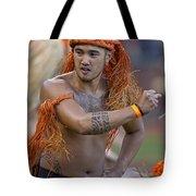 Polynesian Dancers Tote Bag
