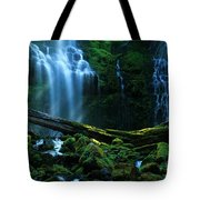 Proxy Falls Oregon Tote Bag
