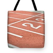 Racing Track Tote Bag by Tom Gowanlock