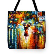 Rain Princess Tote Bag by Leonid Afremov