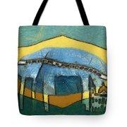 Rio De Janeiro Skyline Tote Bag