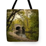 Riverbank Reflections Tote Bag