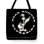 Road Runner Superbird Emblem Tote Bag