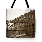 Rochester Show Case Co. Fire New York State Circa 1904 Tote Bag