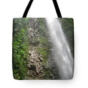 Rock Climbing Rope Climbing Costa Rica Vacations Waterfalls Rivers  Recreation Challanges  Facilitie Tote Bag