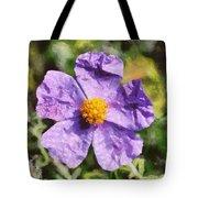 Rockrose Flower Tote Bag
