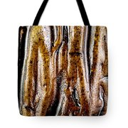Rough Abstract Ceramic Surface Tote Bag